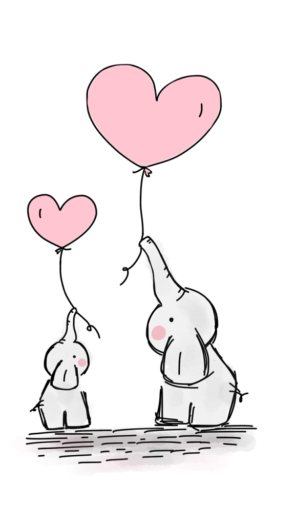 This image has an empty alt attribute; its file name is elephants-2757831_1280.png